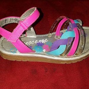 Innocence Shoes - Toddler girls sandals. Size 9.